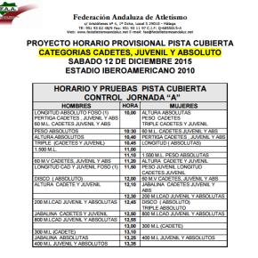 Horario I Control JornadaA