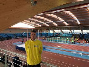 Cándido Gómez en el I Trofeo de Atletismo Chamartin enMadrid