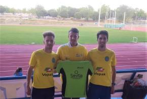 Stefan, Ismael y Cándido en el Cto. de Clubes Nacional 1º División enAlcorcón