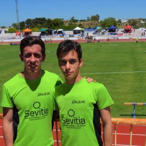 Manuel Ángel Moreno y Roberto Castro en el Campeonato de Andalucía de Clubes Absoluto SegundaDivisión