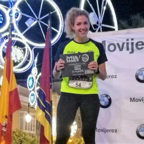 Elisa Piñero Subcampeona Master20 de la Nocturna II Ultramaratón de lavida
