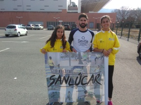 Dos atletas del Club Atletismo Sanlúcar vuelan enAntequera