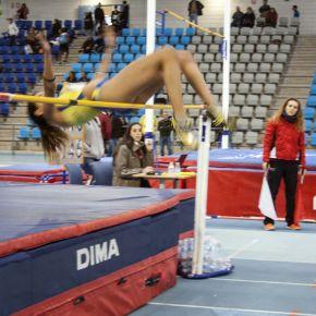 Alicia Vázquez segunda en Salto de Altura en el Cto. de Andalucía de ClubesSub´20