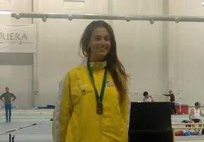 Alicia Vázquez, Campeona de AndalucíaJunior