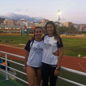 Andaluz de Clubs Junior,  Alicia Vázquez Bronce, del C ASanlúcar