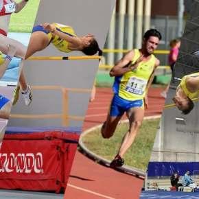 Brillante actuación de los atletas del Club Atletismo Sanlúcar en la 1ª División Liga Nacional deClubs