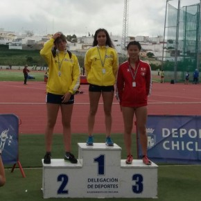 Marta Vargas, Club Atletismo Sanlúcar, CampeonaProvincial