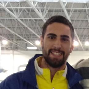 Ismael Vázquez, del Club Atletismo Sanlúcar, 5º en el AndaluzAbsoluto