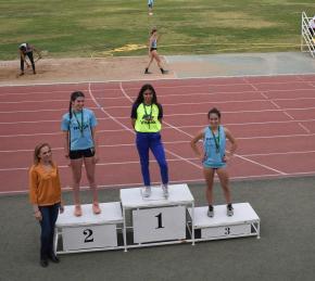 Marta Vargas,Club Atletismo Sanlúcar,Campeona de AndalucíaSub18