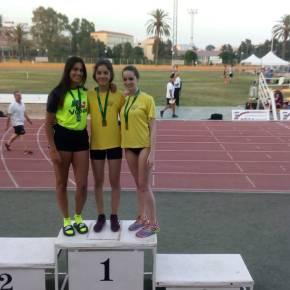 Marta Vargas y Alicia Vázquez, Club Atletismo Sanlúcar, brillaron en Castellón yMálaga