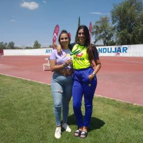 Alicia Vázquez, Club Atletismo Sanlúcar, Campeona de Andalucía deHeptathlon