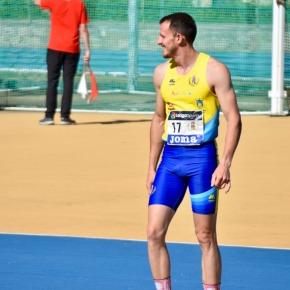 Cándido Gómez ,Club Atletismo SANLÚCAR,brilló en el AndaluzAbsoluto